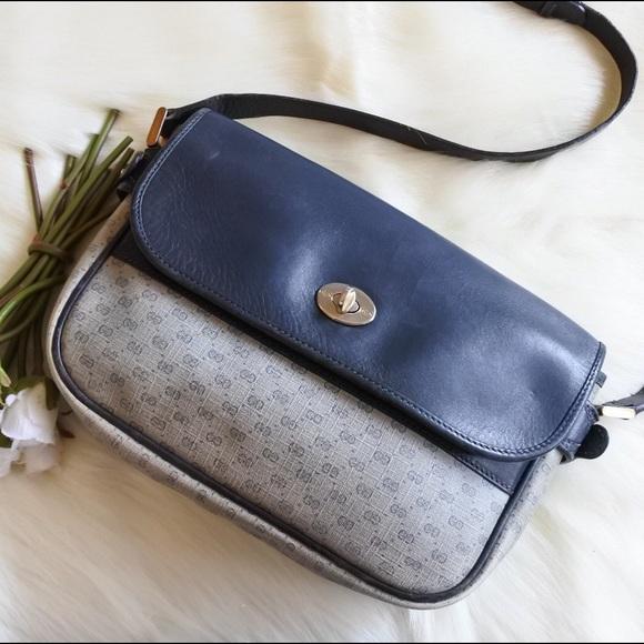 ff9408ab67c7 Gucci Bags | Navy Gg Monogram Messenger Bag | Poshmark